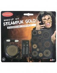 Kit trucco dorato steampunk