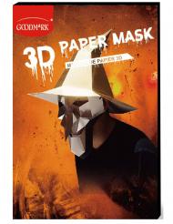 Maschera di carta 3D strega adulto