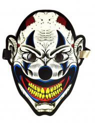 Maschera clown sonora adulto