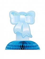 Centrotavola di carta il mio battesimo blu