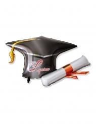 Palloncino alluminio tocco di laurea