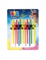 14 candeline Buon Compleanno multicolor
