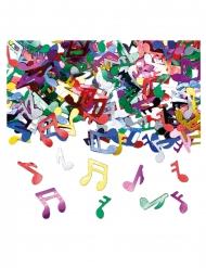 Coriandoli da tavola note musicali multicolor