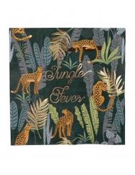 16 tovaglioli di carta Jungle Fever