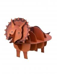 Alzatina in cartone a forma di dinosauro