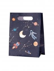 4 sacchetti regalo in cartone astronauta