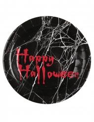 10 piatti in cartone clown Halloween 23 cm
