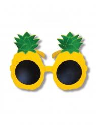 Occhiali gialli ananas per adulto