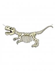 Ghirlanda in cartone scheletro dinosauro