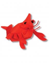 Cappello aragosta rossa per adulto
