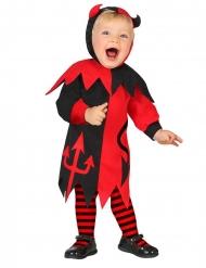 Costume piccolo diavolo neonato