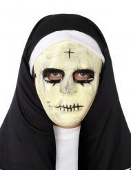 Maschera da suora spaventosa per adulto
