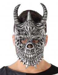 Maschera scheletro drago adulto