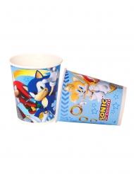 8 Bicchieri in cartone Sonic™