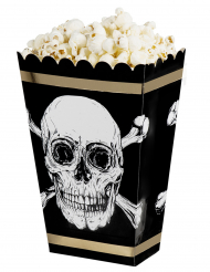 4 scatole da pop corn pirata jolly