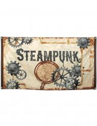 Bandiera in tessuto Steampunk