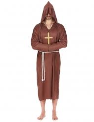 Costume da monaco taglie forti adulto