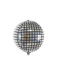 Palloncino alluminio sfera disco