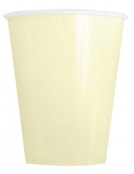 14 Bicchieri in cartone avorio