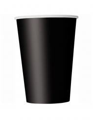 14 Bicchieri in cartone nero