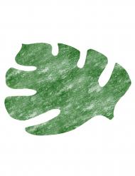 4 Tovagliette foglie tropicali verdi