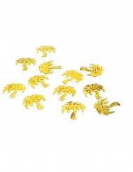 Coriandoli da tavola palme dorate