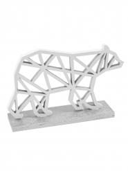 Orsetto polare origami argento