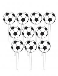 36 stuzzicadenti in plastica pallone di calcio 7,6 cm