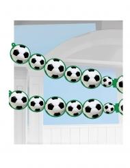 Ghirlanda di carta con palloni di calcio