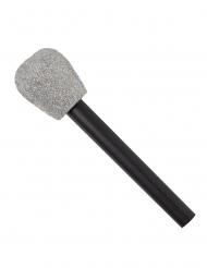 Microfono con brillantini anni 80