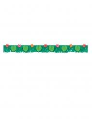 Banner con frange di carta tropical jungle
