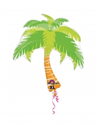 Palloncino in alluminio palma tropicale