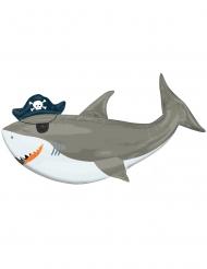 Palloncino alluminio squalo all'arrembaggio