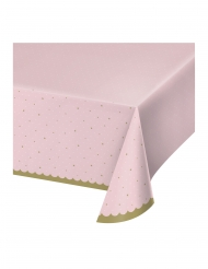 Tovaglia in plastica rosa cigno reale
