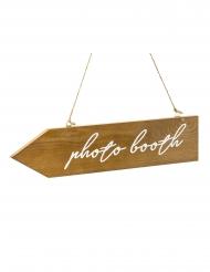 Pannello freccia in legno Photobooth
