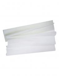 Foglio in carta crespa bianca