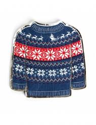 16 Tovaglioli di carta maglione natalizio 20 x 20 cm