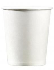25 Bicchieri di carta bianchi 200ml