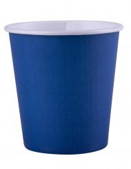 25 Bicchieri di carta blu 200ml