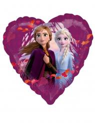 Palloncino alluminio cuore Frozen 2™ 43 cm