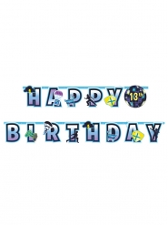 Ghirlanda personalizzabile Happy Birthday battle royale