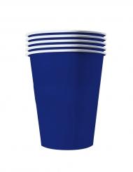 20 bicchieri in cartone riciclabile blu