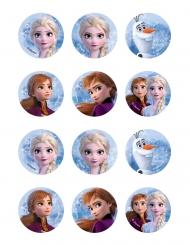 12 Decorazioni per biscotti Frozen2™