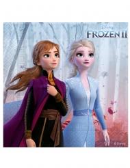 16 mini tovaglioli di carta Frozen 2™