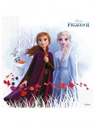 20 tovaglioli in carta compostabile Frozen 2™