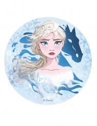 Disco di ostia con Elsa Frozen 2™