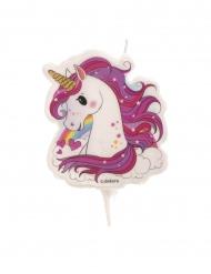 Candelina di compleanno unicorno magico