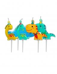 5 candeline di compleanno dinosauro
