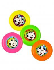 Regalini per pignatta 4 frisbees multicolore 9 cm