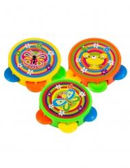 Regalini per pignatta 3 tamburelli multicolore 4,5 cm
